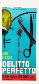 Dial M for Murder - Italian Re-release poster (xs thumbnail)