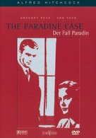 The Paradine Case - German DVD movie cover (xs thumbnail)