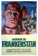 The Horror of Frankenstein - British Movie Poster (xs thumbnail)