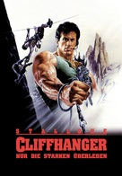 Cliffhanger - German Movie Poster (xs thumbnail)