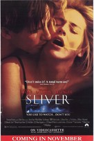 Sliver - Video release movie poster (xs thumbnail)