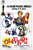 Oliver! - Spanish Movie Poster (xs thumbnail)