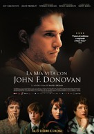 The Death and Life of John F. Donovan - Italian Movie Poster (xs thumbnail)