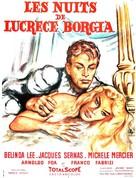 Notti di Lucrezia Borgia, Le - French Movie Poster (xs thumbnail)