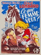 Love Before Breakfast - French Movie Poster (xs thumbnail)