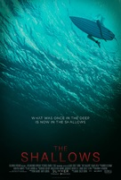 The Shallows - Teaser movie poster (xs thumbnail)