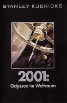 2001: A Space Odyssey - German DVD movie cover (xs thumbnail)
