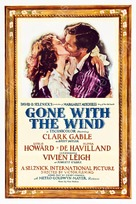 Gone with the Wind - Theatrical movie poster (xs thumbnail)