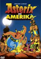 Asterix in Amerika - German DVD movie cover (xs thumbnail)