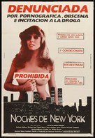 New York Nights - Argentinian Movie Poster (xs thumbnail)