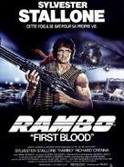 First Blood - French Movie Poster (xs thumbnail)