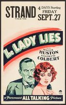 The Lady Lies - Movie Poster (xs thumbnail)