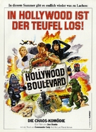 Hollywood Boulevard - German Movie Poster (xs thumbnail)