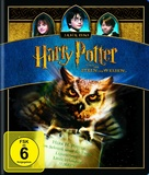 Harry Potter and the Sorcerer's Stone - German Blu-Ray movie cover (xs thumbnail)