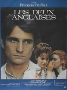Deux anglaises et le continent, Les - French Movie Poster (xs thumbnail)