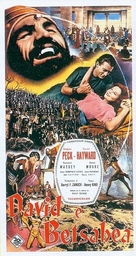 David and Bathsheba - Italian Movie Poster (xs thumbnail)