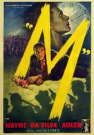 M - Italian Movie Poster (xs thumbnail)