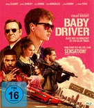 Baby Driver - German Movie Cover (xs thumbnail)