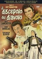 The Devil's Disciple - Italian DVD movie cover (xs thumbnail)