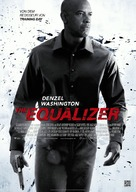 The Equalizer - German Movie Poster (xs thumbnail)