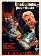 Two on a Guillotine - Belgian Movie Poster (xs thumbnail)