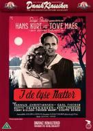 I de lyse nætter - Danish DVD cover (xs thumbnail)