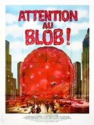 Beware! The Blob - French Movie Poster (xs thumbnail)