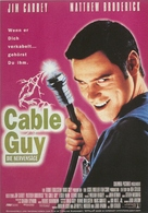 The Cable Guy - German Movie Poster (xs thumbnail)