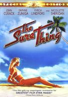 The Sure Thing - DVD cover (xs thumbnail)