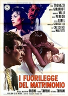 Fuorilegge del matrimonio, I - Italian Movie Poster (xs thumbnail)