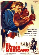 Der letzte Mohikaner - Spanish Movie Poster (xs thumbnail)