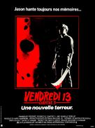 Friday the 13th: A New Beginning - French Movie Poster (xs thumbnail)