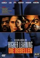 Higher Learning - German DVD cover (xs thumbnail)
