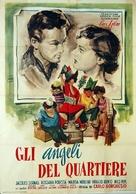 Gli angeli del quartiere - Italian Movie Poster (xs thumbnail)