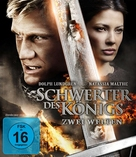 In the Name of the King: Two Worlds - German Blu-Ray movie cover (xs thumbnail)