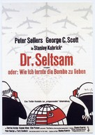 Dr. Strangelove - German Movie Poster (xs thumbnail)