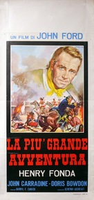 Drums Along the Mohawk - Italian Movie Poster (xs thumbnail)