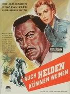 The Proud and Profane - German Movie Poster (xs thumbnail)