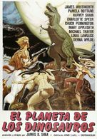 Planet of Dinosaurs - Spanish Movie Poster (xs thumbnail)