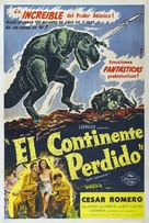 Lost Continent - Argentinian Movie Poster (xs thumbnail)