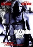 Maximum Risk - DVD cover (xs thumbnail)