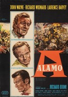 The Alamo - German Movie Poster (xs thumbnail)