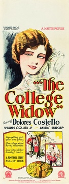 The College Widow - Australian Movie Poster (xs thumbnail)