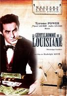 The Mississippi Gambler - French DVD movie cover (xs thumbnail)