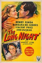 The Long Night - Australian Movie Poster (xs thumbnail)