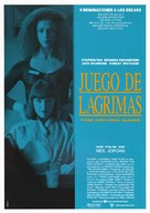 The Crying Game - Spanish Movie Poster (xs thumbnail)