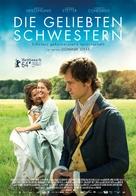 Die geliebten Schwestern - Swiss Movie Poster (xs thumbnail)