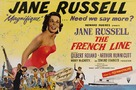 The French Line - British Movie Poster (xs thumbnail)