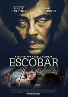 Escobar: Paradise Lost - Chilean Movie Poster (xs thumbnail)
