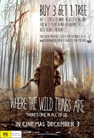 Where the Wild Things Are - Australian Movie Poster (xs thumbnail)